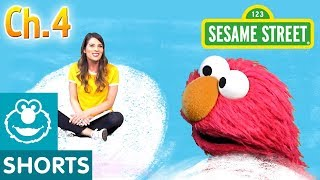 Elmo & Ms. Booksy Read Jack and the Beanstalk - Part 4 | Story Time with Ms. Booksy at Cool School