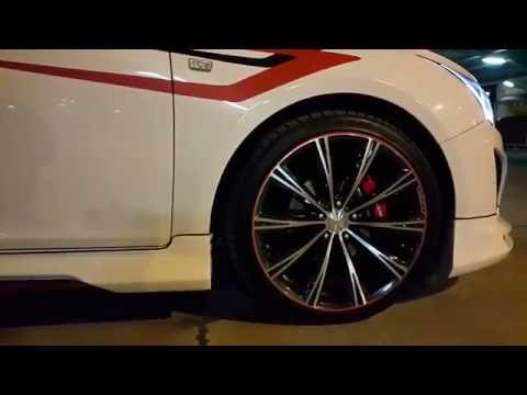 Tuning Chevrolet Cruze/Диски R18/Шины и диски для шевроле круз.