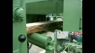 Многопильные станки MS Maschinenbau MBS - видео обзор работы