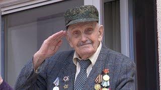 В День 75-летия Великой Победы ветераны Калининградской области принимают поздравления