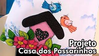 Márcia Caires – Pano de prato, Casinha de Passarinho