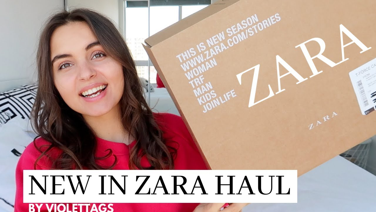 MASSIVE ZARA HAUL UNBOXING and TRY ON | SPRING SUMMER 2019 2