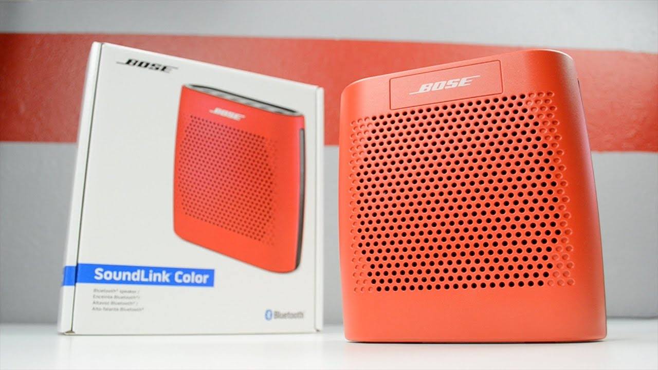 Bose Soundlink Color Speaker For Portable Use Wireless Bluetooth Blue