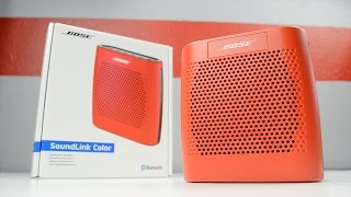 Bose SoundLink Color Review | Best Portable Bluetooth Speaker For The Price?
