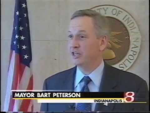 January 7, 2004 - Indy Mayor Bart Peterson on Colts-Chiefs Playoff Game