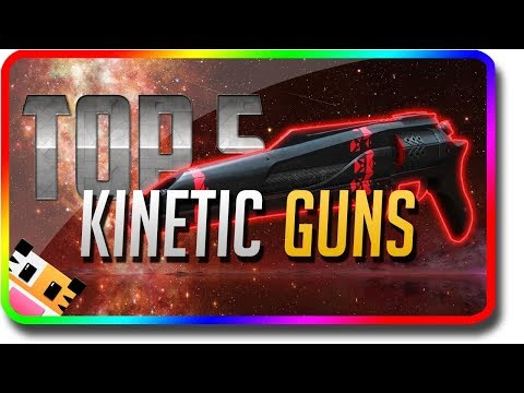 """Destiny 2 - """"Top 5"""" Kinetic Guns in PvE (Destiny 2 Best Weapons in PvE with the Highest Damage)"""