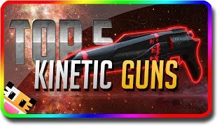"Destiny 2 - ""Top 5"" Kinetic Guns in PvE (Destiny 2 Best Weapons in PvE with the Highest Damage)"
