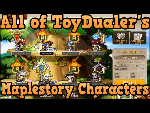 Download All of ToyDualer's Maplestory Characters
