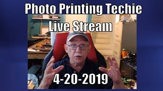 Jose Rodriguez Live Stream Photo Printing Techie 4-20-2019 3PM Easter Time USA thumbnail
