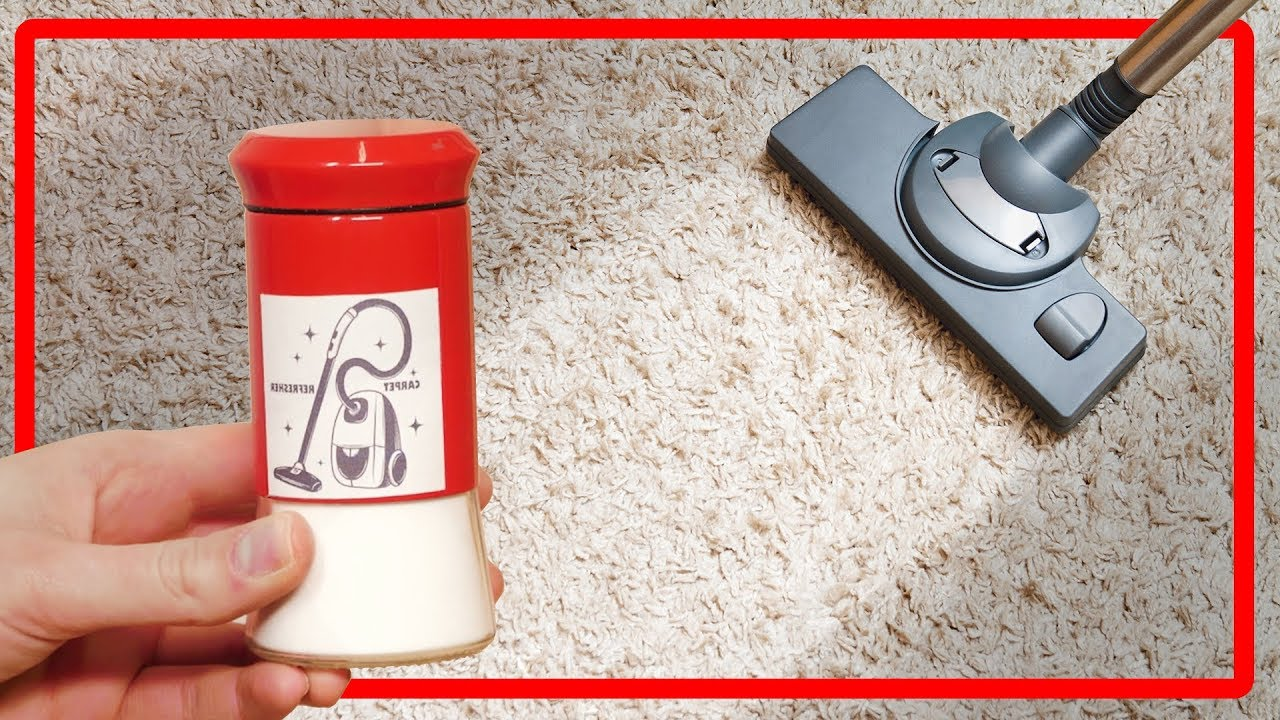 5 cool life hacks that will help you clean the carpet on ...