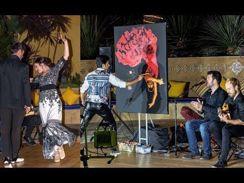 Flamenco music and Live Art