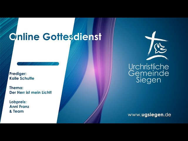 UGS - Gottesdienst | Thema: