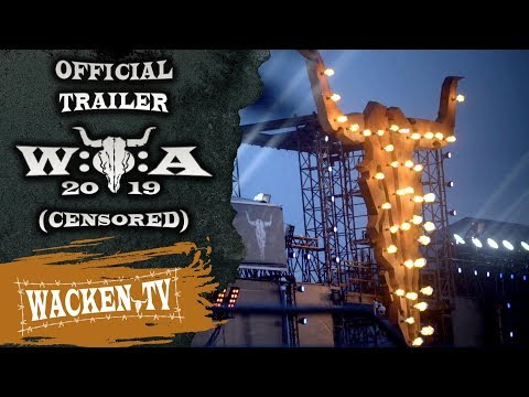 Wacken Open Air 2019 - Official Trailer (Final Censored Version) - The Crew Is Brilliant!