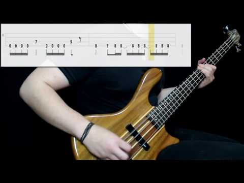 System Of A Down - Aerials (Bass Cover) (Play Along Tabs In Video)