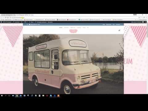 inloggen - media uploaden - uitloggen wordpress