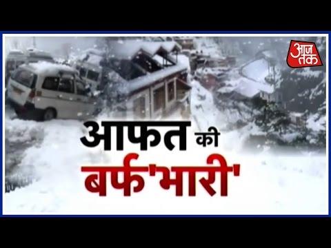 Shimla, Manali Traffic Restored After Snowfall