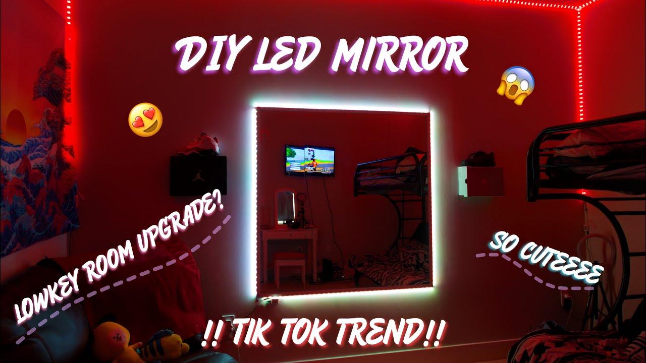 Diy Led Body Mirror Tiktok Trend Youtube