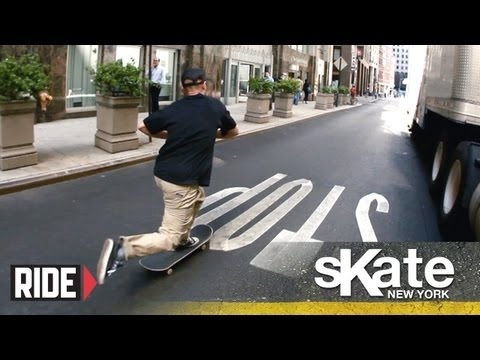 SKATE New York with Zered Bassett - Series Premiere