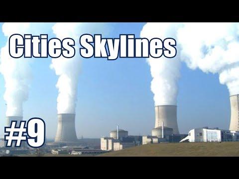 Cities skylines #9 โรงไฟฟ้านิวเคลียร์...ดีจริงๆหรอ ??