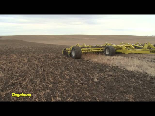 Degelman Pro-Till High Performance Tillage Cultivator - Valley Bottom