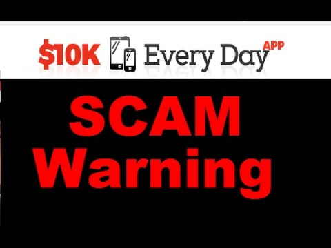 10k Everyday App Review - Exposing 10K Every Day App SCAM!