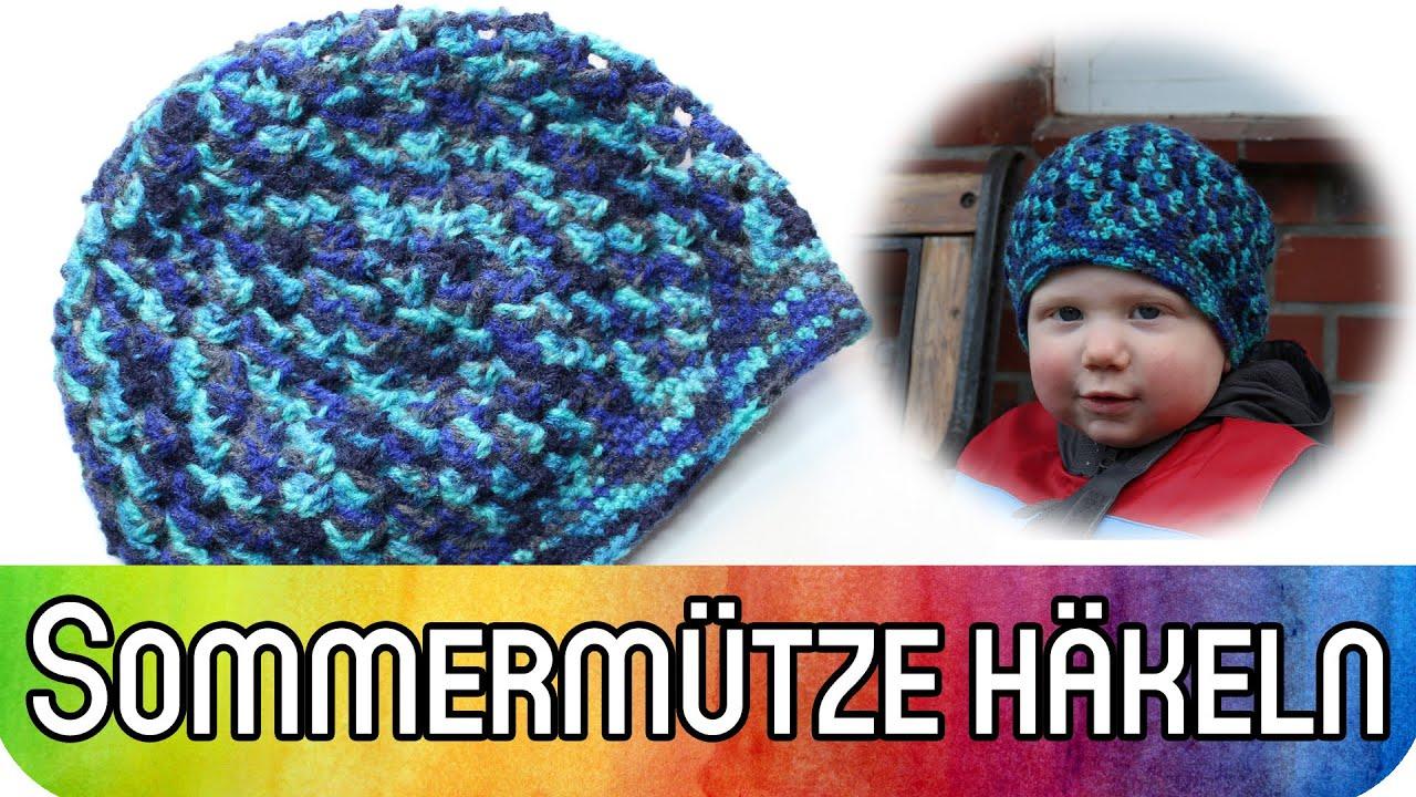 DIY Häkeln (auch) für Anfänger: Sommermütze für Babys, Kinder und ...