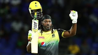 MONDAY MEMOR ES CHR S GAYLE 116 V PATR OTS CPL21 ChrisGayle UniverseBoss CricketPlayedLouder
