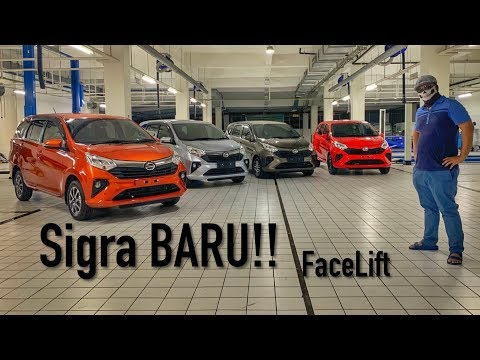 Daihatsu Sigra BARU Facelift