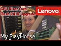 Lenovo x3650 M4 GPU Riser Card   Flash RAID Upgrade   482