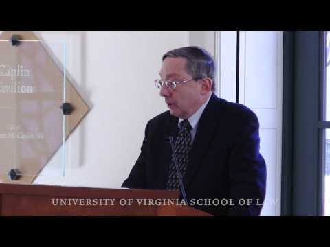 """Religious Liberty and the Culture Wars,"" with UVA Law Professor Douglas Laycock"
