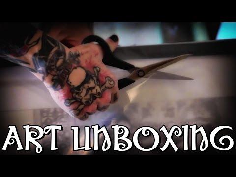 ART UNBOXING! Philip Colbert & Gregg Nixon, as seen on Extraordinary Collector (Gordon Watson) BBC2
