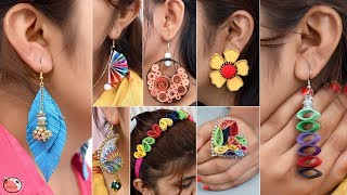 22 LATEST FASHION WASTE PAPER JEWLERY MAKING | LADIES SPECIAL