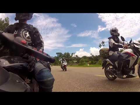Hanoi Yamaha YZF R15 Knights Team: Weekend ride to Quynh Bang, July 2013
