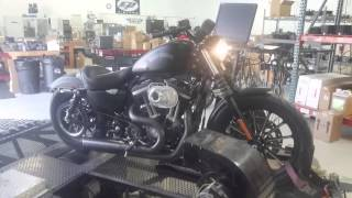 2014 iron 883 with hammer performance sledge 1250 package break in