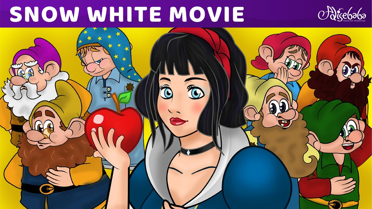 Download Snow White and the Seven Dwarfs Movie (2019) - Bedtime Stories For Kids - Fairy Tales