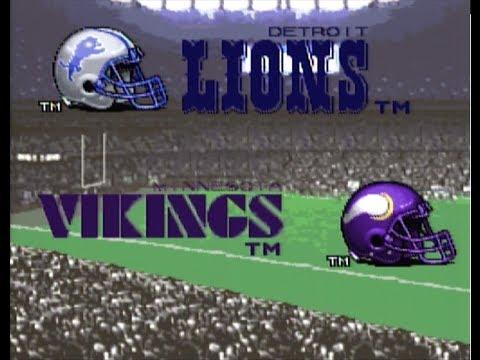 Tecmo Super Bowl III NFTGL XI bonus episode 5 Minnesota vs Detroit