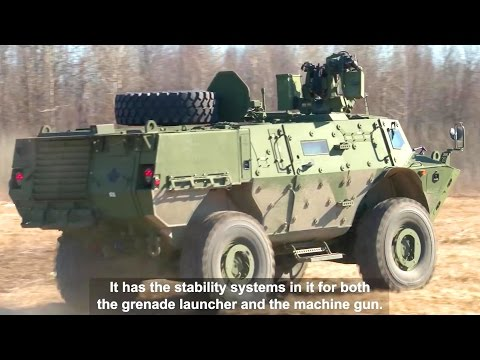 Canadian Army - Tactical Armoured Patrol Vehicle [1080p]