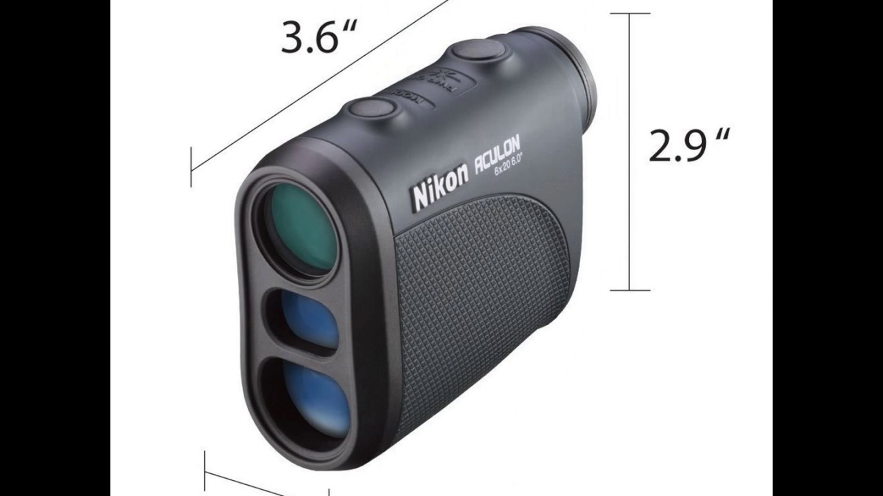 Nikon aculon al laser rangefinder review video youtube
