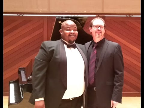 Kindertotenlieder: Owen Metsileng, Albert Combrink