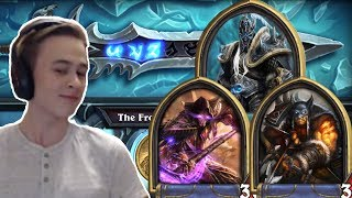 Hearthstone: Defeating The Lich King - Mage and Hunter