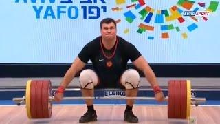 2014 European Weightlifting Championships, Men +105 kg \ Тяжелая Атлетика. Чемпионат Европы