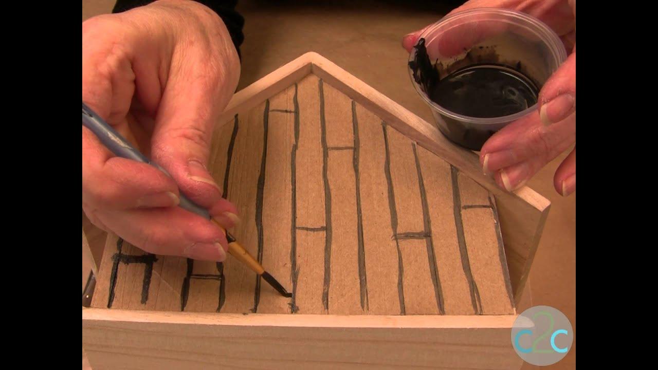 create a magical fairy house with aleene 39 s original tacky glue youtube. Black Bedroom Furniture Sets. Home Design Ideas