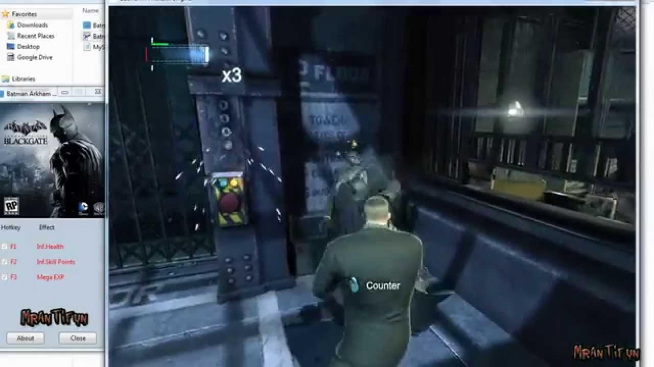 Batman arkham origins trainer +8 v 1. 0 game update #2 youtube.