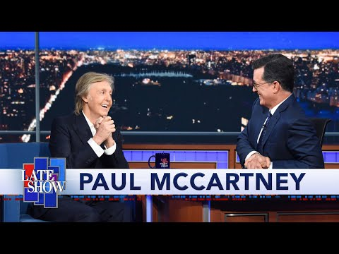 Chad Tyson - Paul McCartney: Bonus Video From Late Show Appearance