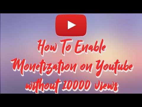 How To Enable Monetization On Youtube 2017 | Without 10000 views
