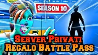 🔴Fortnite Private Servers Live fortnite ita gift skin