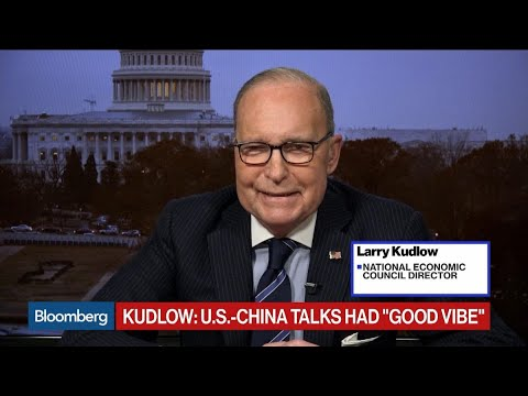 NEC's Kudlow Stresses 'Good Vibe' of U.S.-China Trade Talks Mp3