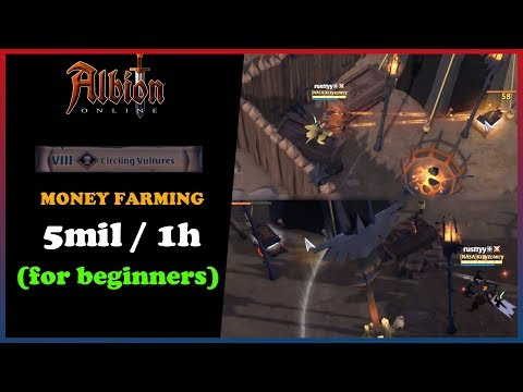 Albion Online   CV Chests silver farming   Beginner Friendly   5 mil in 1 hour