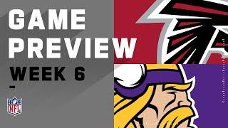 Atlanta Falcons vs. Minnesota Vikings | NFL Week 6 Game Preview