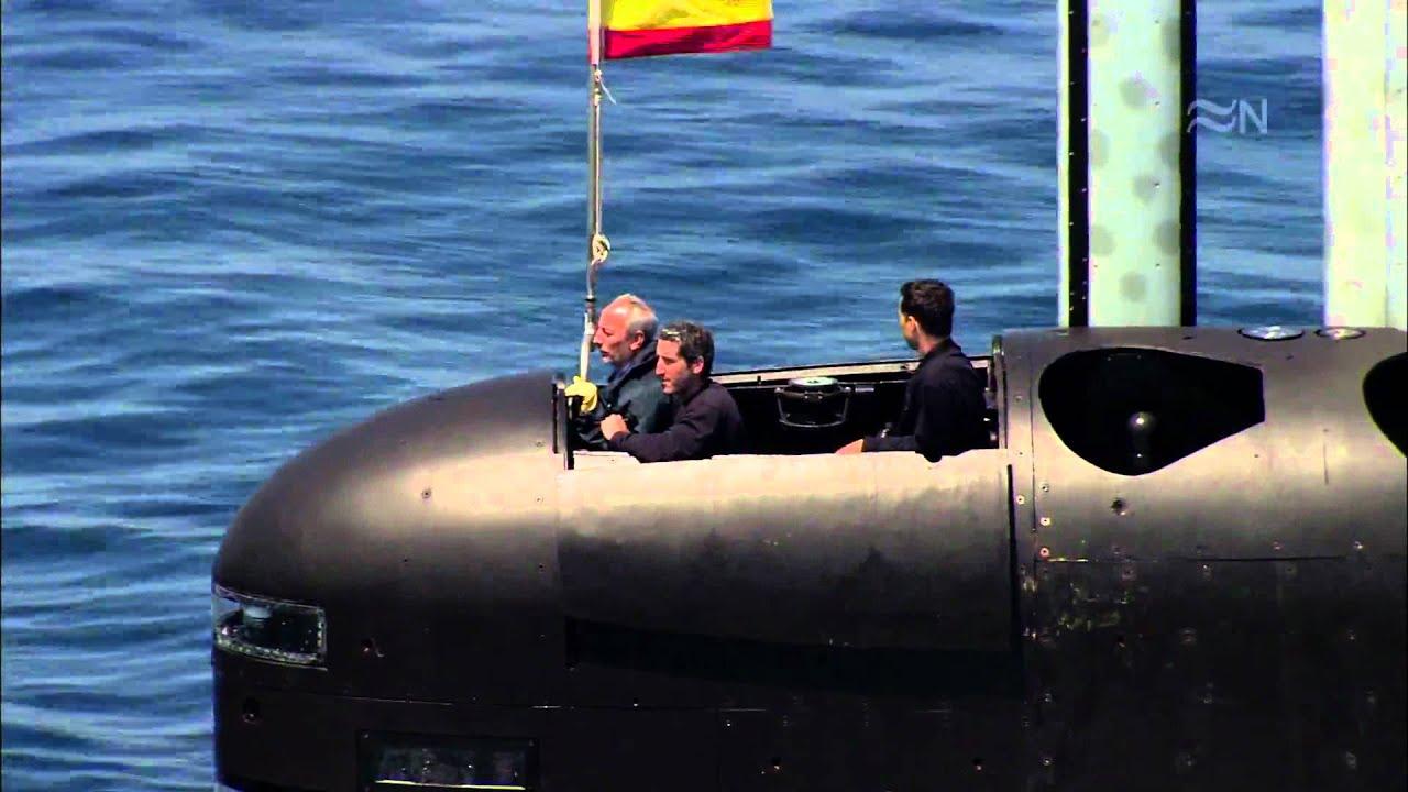 S 80 mejor submarino convencional del mundo youtube for Interior submarino